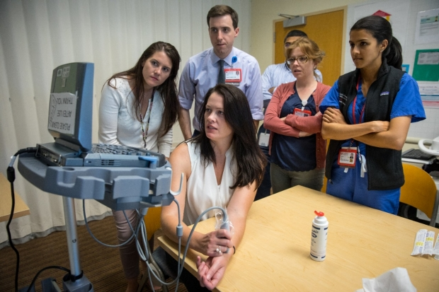 Neonatal-perinatal medicine fellows learn new skills about point-of-care ultrasound