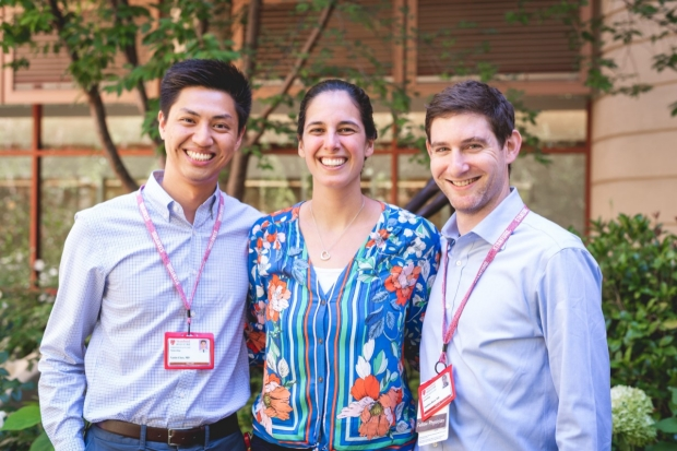 Our class of 2022 fellows (from left to right): Drs. Xuxin Chen, Pearl Houghteling, and Jonathan Reiss